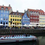 Bunte Gibelhäuser in Nyhavn
