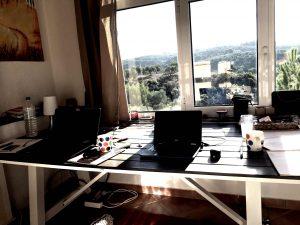 Unser kleines Büro