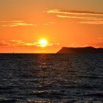 Sonnenuntergang in Perdika